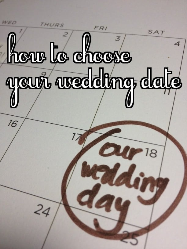 how to choose your wedding date   the johnsons plus dog