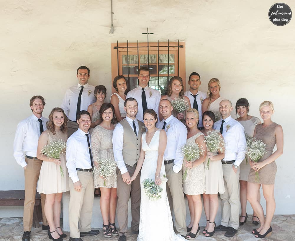 how to choose your bridal party - everyone