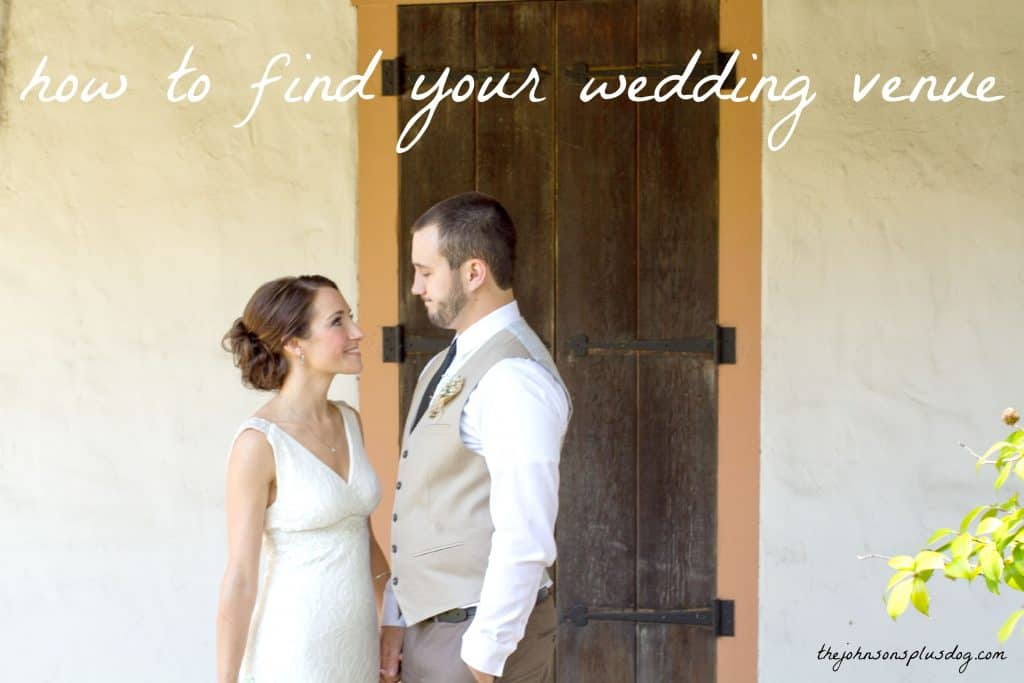 Great tips on how to find a wedding venue | The Johnsons Plus Dog