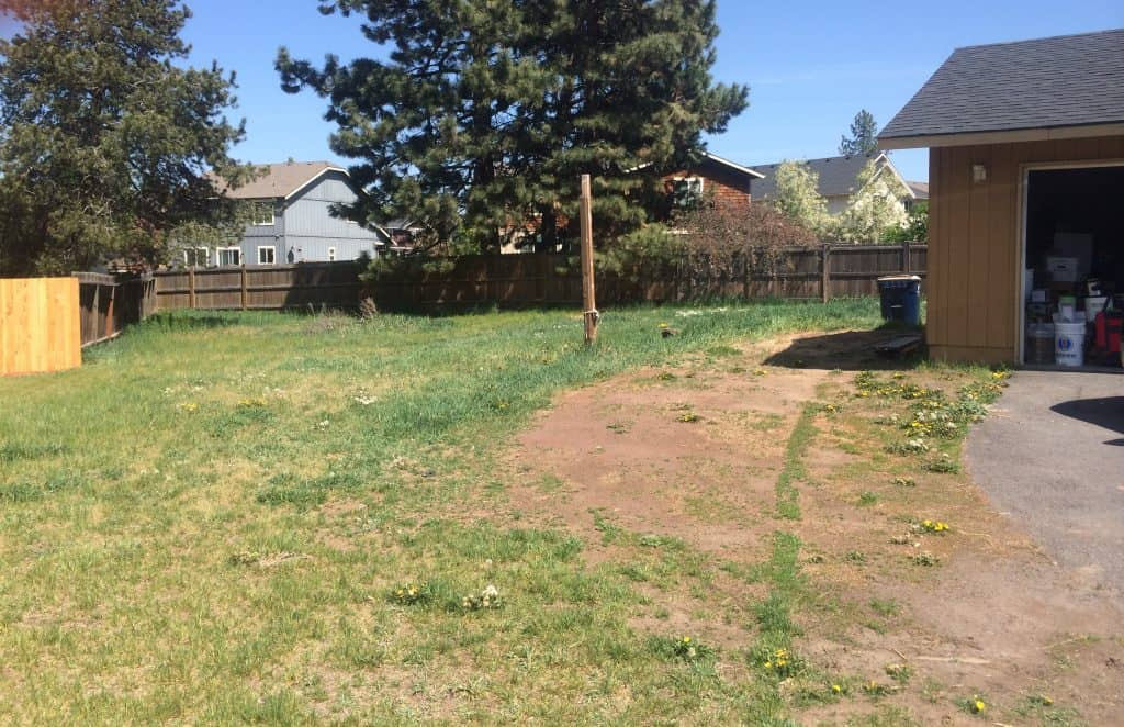 What we plan to do to transform our big un-landscaped yard