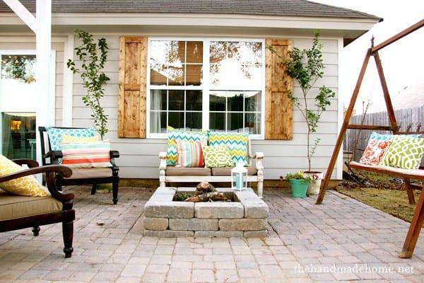 Outdoor Patio & Fire Pit | Backyard Dreams