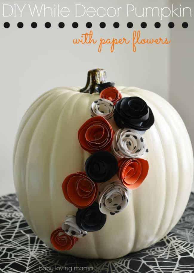 20 Pumpkin Crafts | The Johnsons Plus Dog