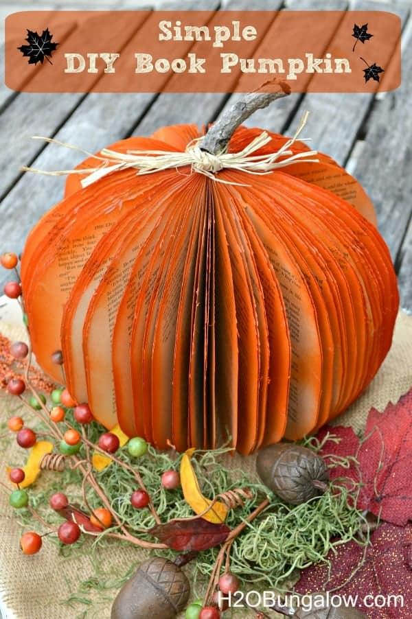 20 Pumpkins Crafts   The Johnsons Plus Dog