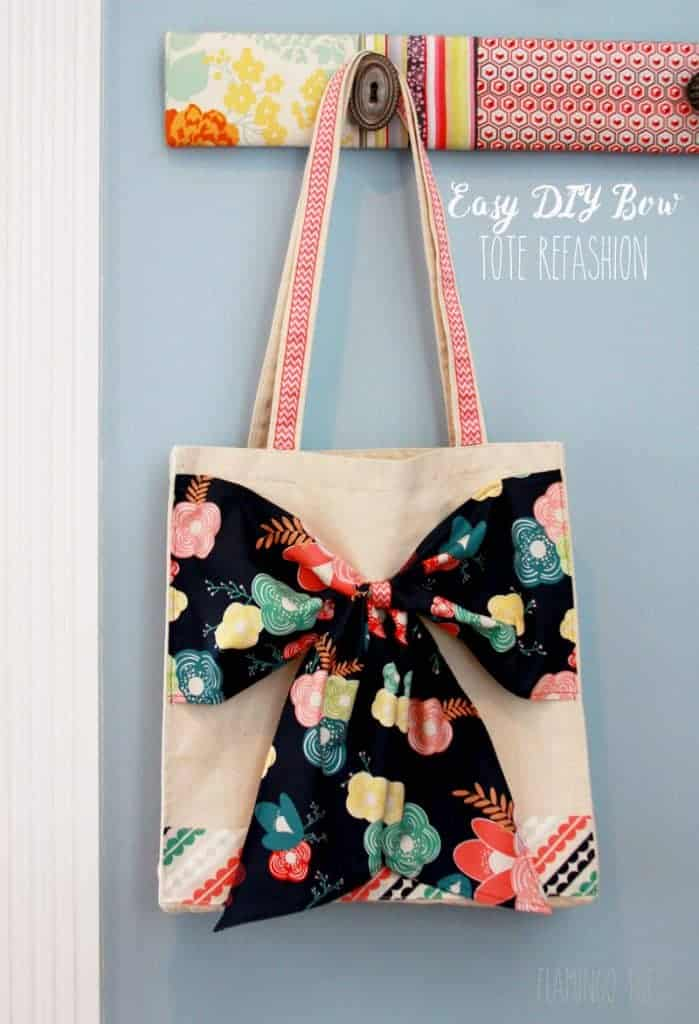 Easy-DIY-Bow-Tote-Refashion