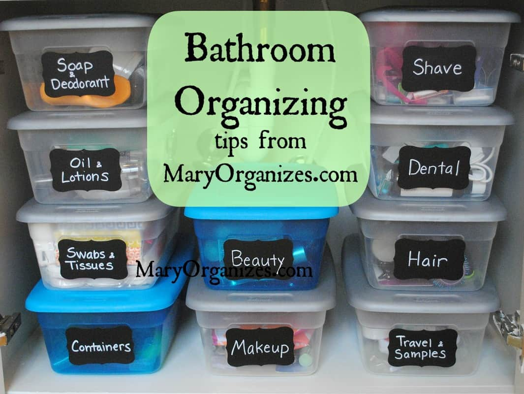 12 Small Bathroom Ideas | Small Bathroom Organizing Tips