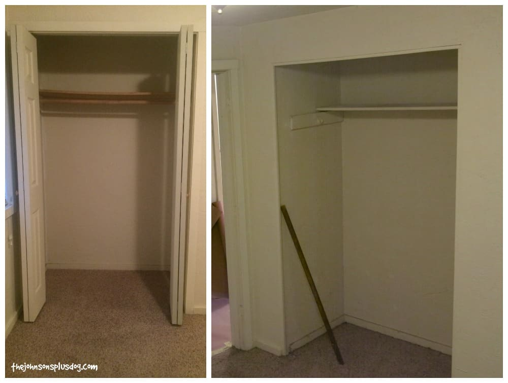 How to get rid of these inefficient old closets!