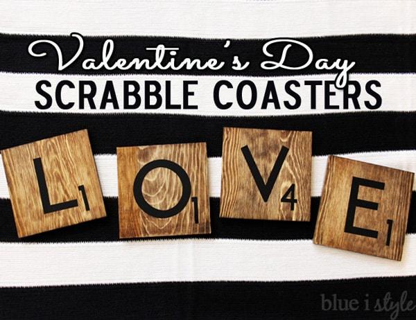 blue i style - ValentinesDayLoveScrabbleCoasters