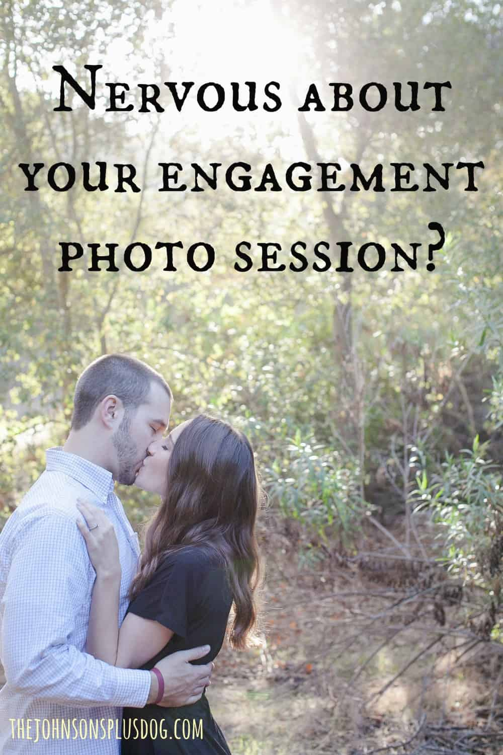 Nervous about your engagement photo session? Engagement picture advice