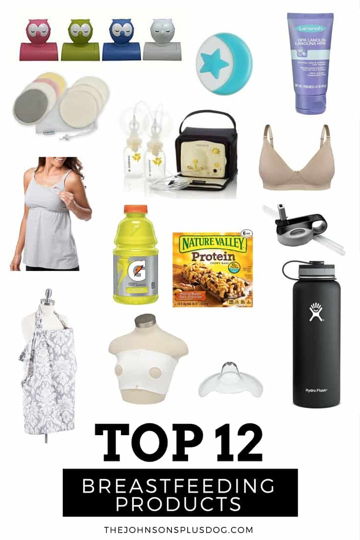 Top 12 Breastfeeding Products