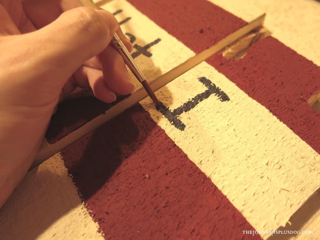 DIY Patriotic Door Sign | US Wood Sign | Patriotic Crafts | Fourth of July Decor