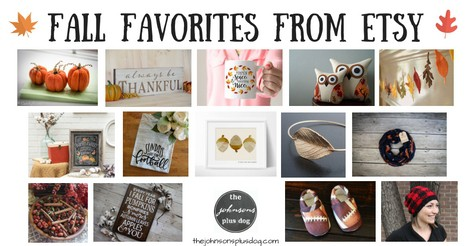 Fall Favorites From Etsy | What To Buy This Fall | Etsy Autumn | Etsy Fall | Thanksgiving