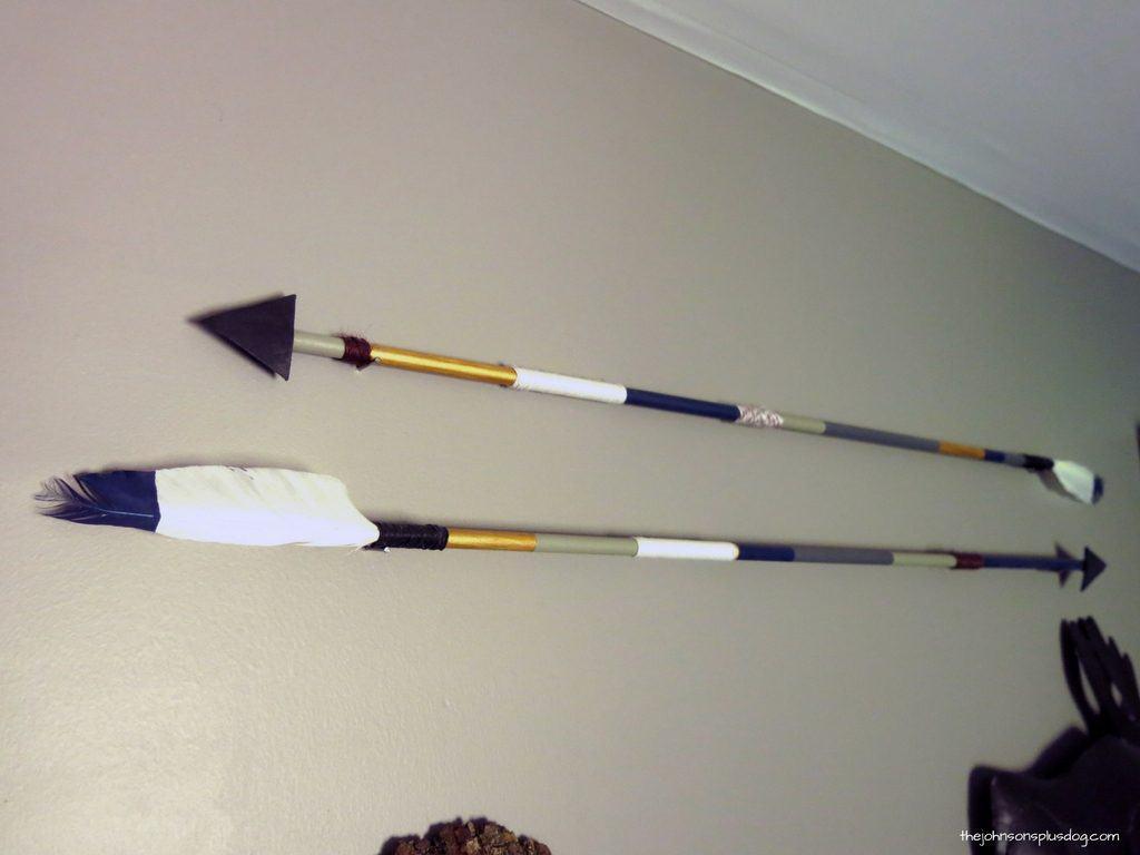DIY Arrow Decor For Baby Boy Rustic Woodland Nursery | Gallery Wall Idea for Nursery