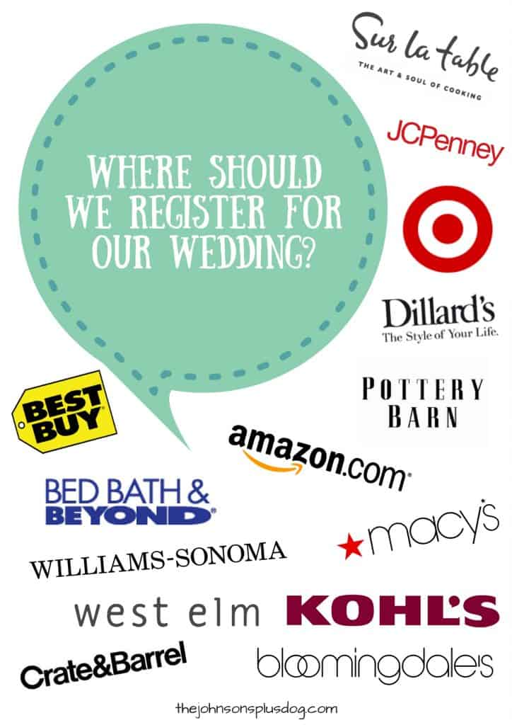 Where Should We Register For Our Wedding? | Wedding Registry Perks | Registering for your Wedding | Wedding Registry Store