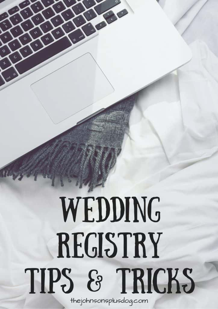 Wedding Registry Tips & Tricks | Registry Advice | Tips for Register for Wedding