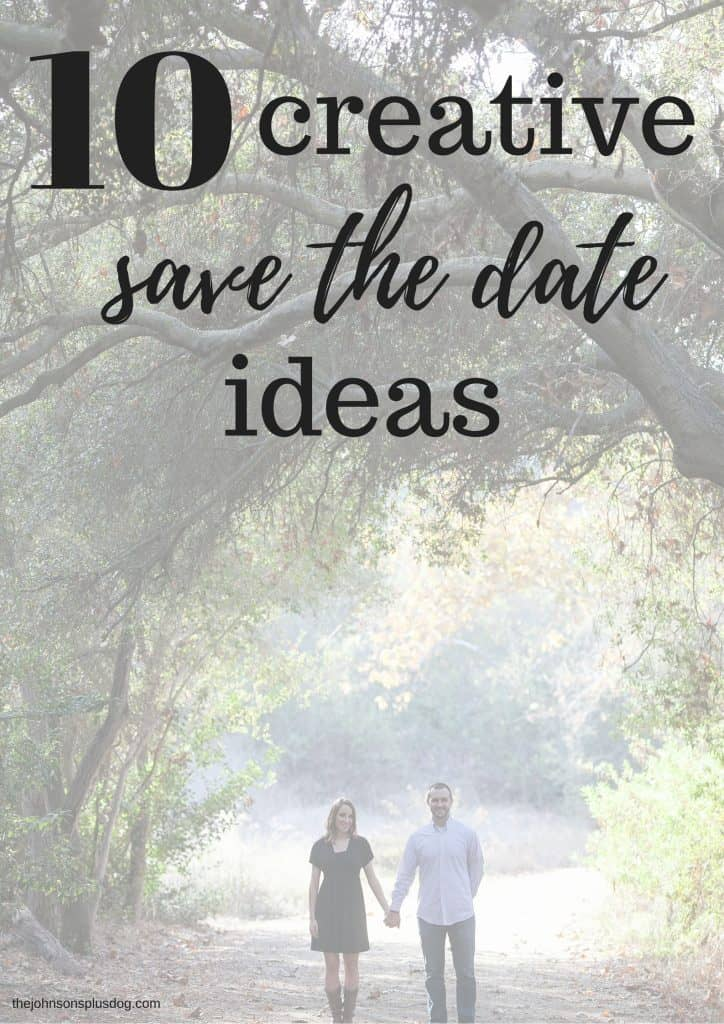 Creative save the date ideas the johnsons plus dog 10 creative save the date ideas save the dates unique save the dates junglespirit Choice Image