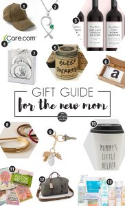 Gift Guide for the New Mom | Gift Guide for New Moms | Gift for New Mom | Gifts for New Mom | New Mom Gift Ideas | Gift Ideas for New Mom | Christmas Gift for New Mom | New Mom Gift