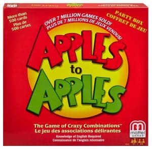 Gift Guide for Newlyweds | Gift for Newlyweds | Christmas Gift Ideas | Apples to Apples, because every new couple needs some fun games for entertaining