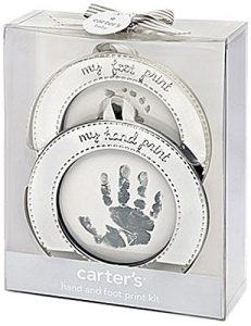 Handprint and Footprint Ornament   Gift Guide for the New Mom   Gift Guide for New Moms   Gift for New Mom   Gifts for New Mom   New Mom Gift Ideas   Gift Ideas for New Mom   Christmas Gift for New Mom   New Mom Gift