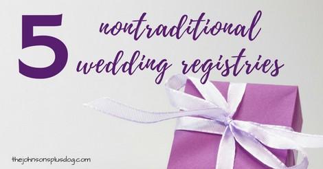 5 nontraditional wedding registries making manzanita 5 nontraditional wedding registries alternative wedding registry zola blueprint honeyfund justgive junglespirit Image collections