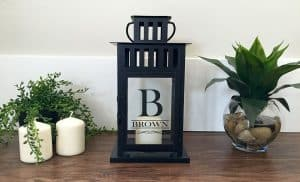 Gift Guide for Newlyweds | Gift for Newlyweds | Christmas Gift Ideas | Personalized Farmhouse Lantern from Qualtry