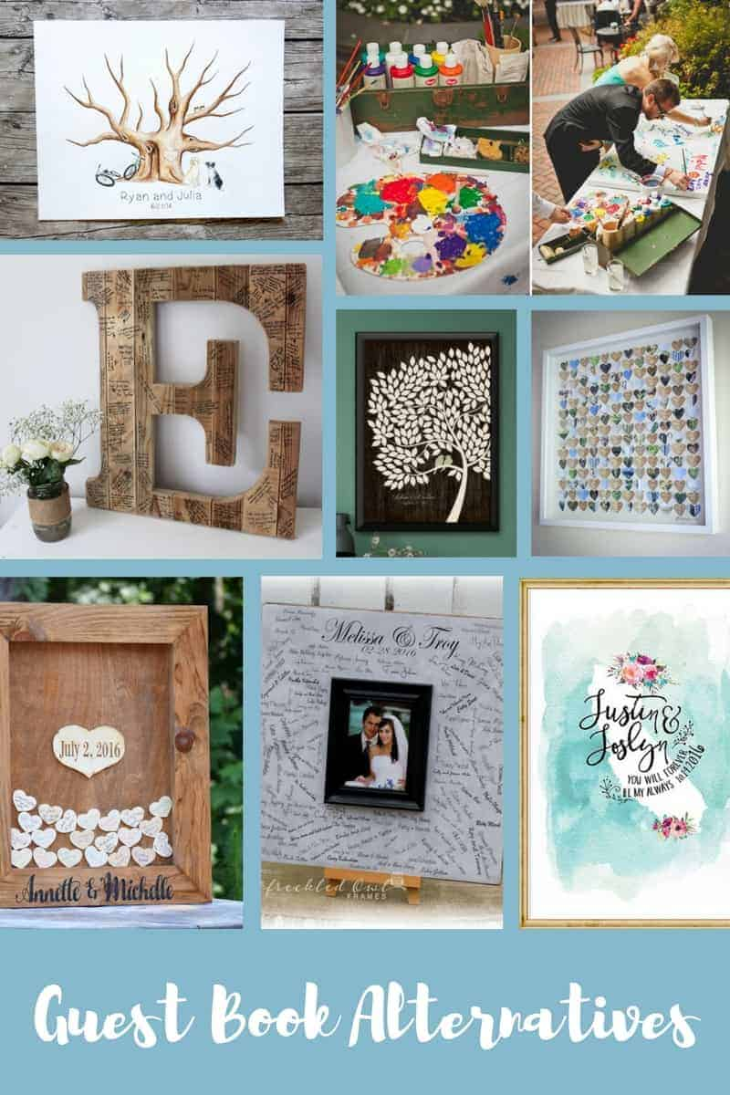 Unique Guest Book Alternatives For Your Wedding - Making Manzanita