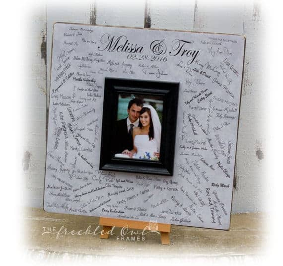 Wedding Guest Book Alternatives | Alternatives to Guest Book | Creative Wedding Guest Book Ideas | What to do for wedding guest book | Guest book ideas | Guest book alternative | Unique guest books | Ideas for wedding guest book