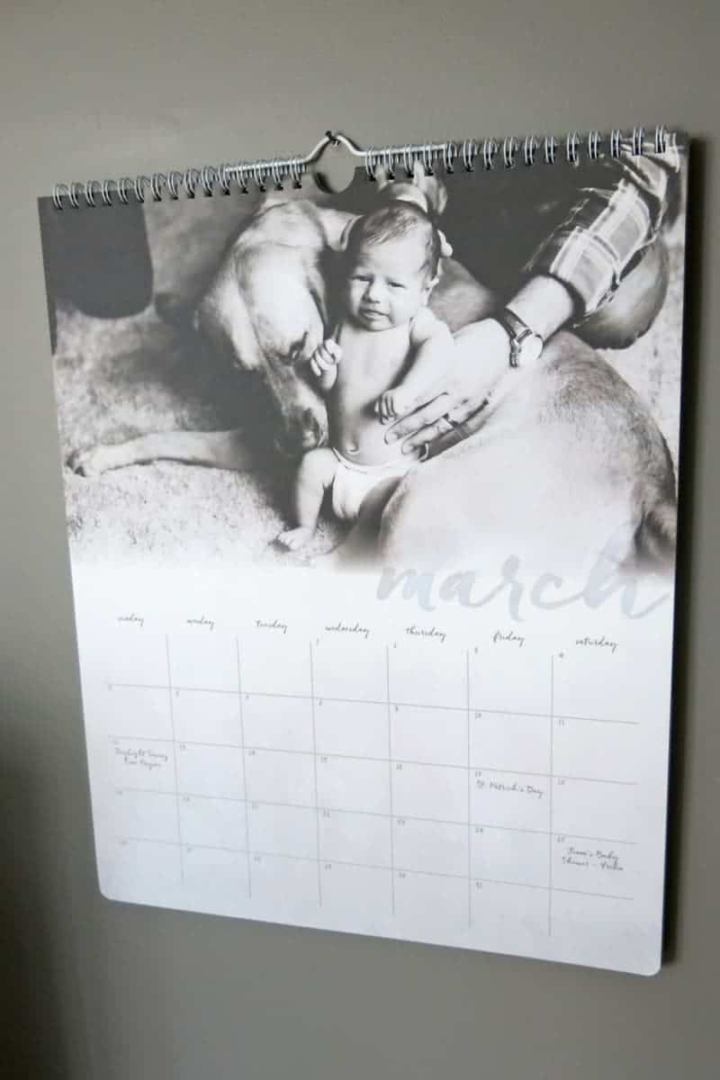 Personalized Photo Calendar from Minted