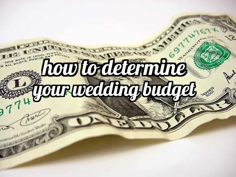 how to determine your wedding budget making manzanita With how to determine wedding budget
