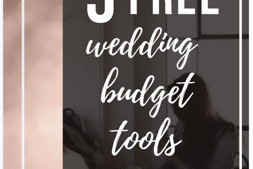 5 Free Wedding Budget Tools To Keep You Organized | How to budget for your wedding | Wedding budget tips | Keeping your wedding budget organized | Organization tips for wedding planning | How to handle wedding finances | Free Guides for Budget Weddings | Wedding Budget Spreadsheets | Budgeting for Your Wedding