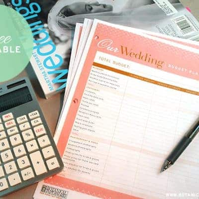Wedding Budget Tools