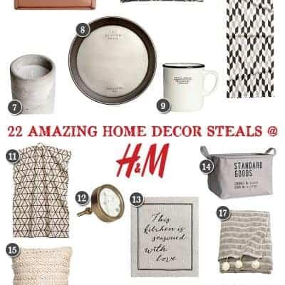 Home Decor Deals at H&M