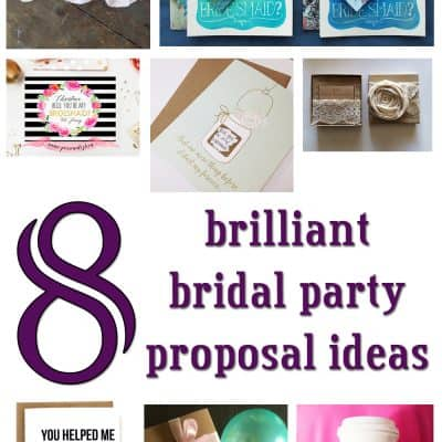 8 Brilliant Bridal Party Proposal Ideas