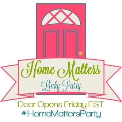 Home Matters Linky Party #61