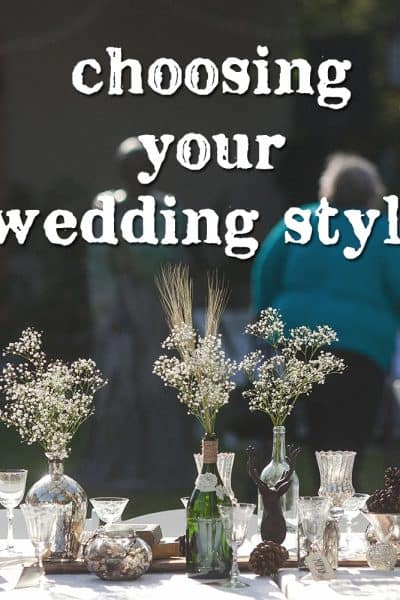Tips for Choosing Your Wedding Style   the johnsons plus dog