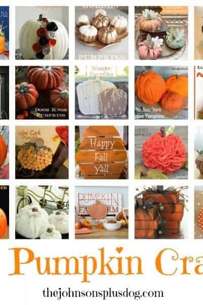 Fall Favorites: 20 Pumpkin Crafts