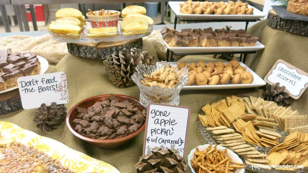 Woodland Baby Shower Theme Food Ideas