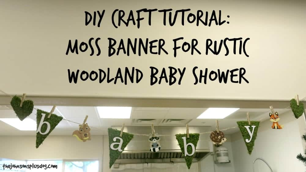 Rustic Woodland Baby Shower Everything From The Moss Banner