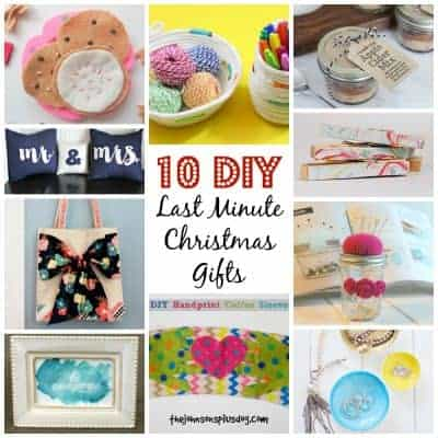10 DIY Last Minute Christmas Gifts