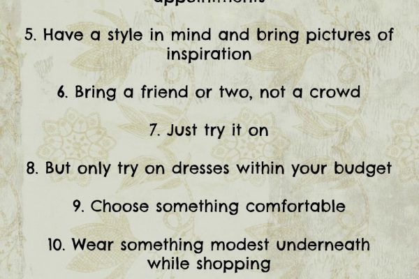 15 Tips for Wedding Dress Shopping   Wedding Dress Shopping Advice