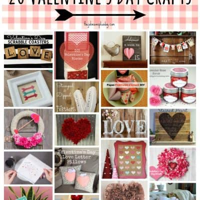 20 Valentine's Day Crafts | DIY Valentine's Day Gifts