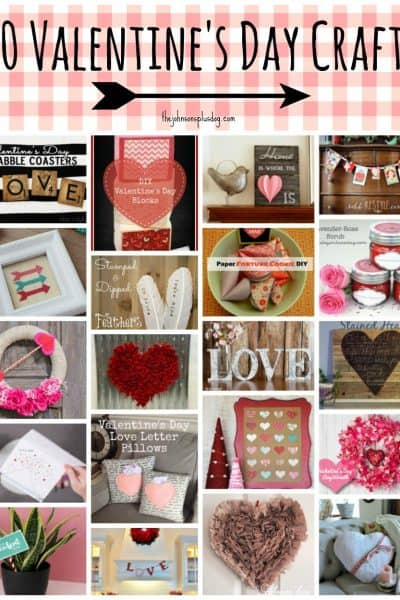 20 Valentine's Day Crafts