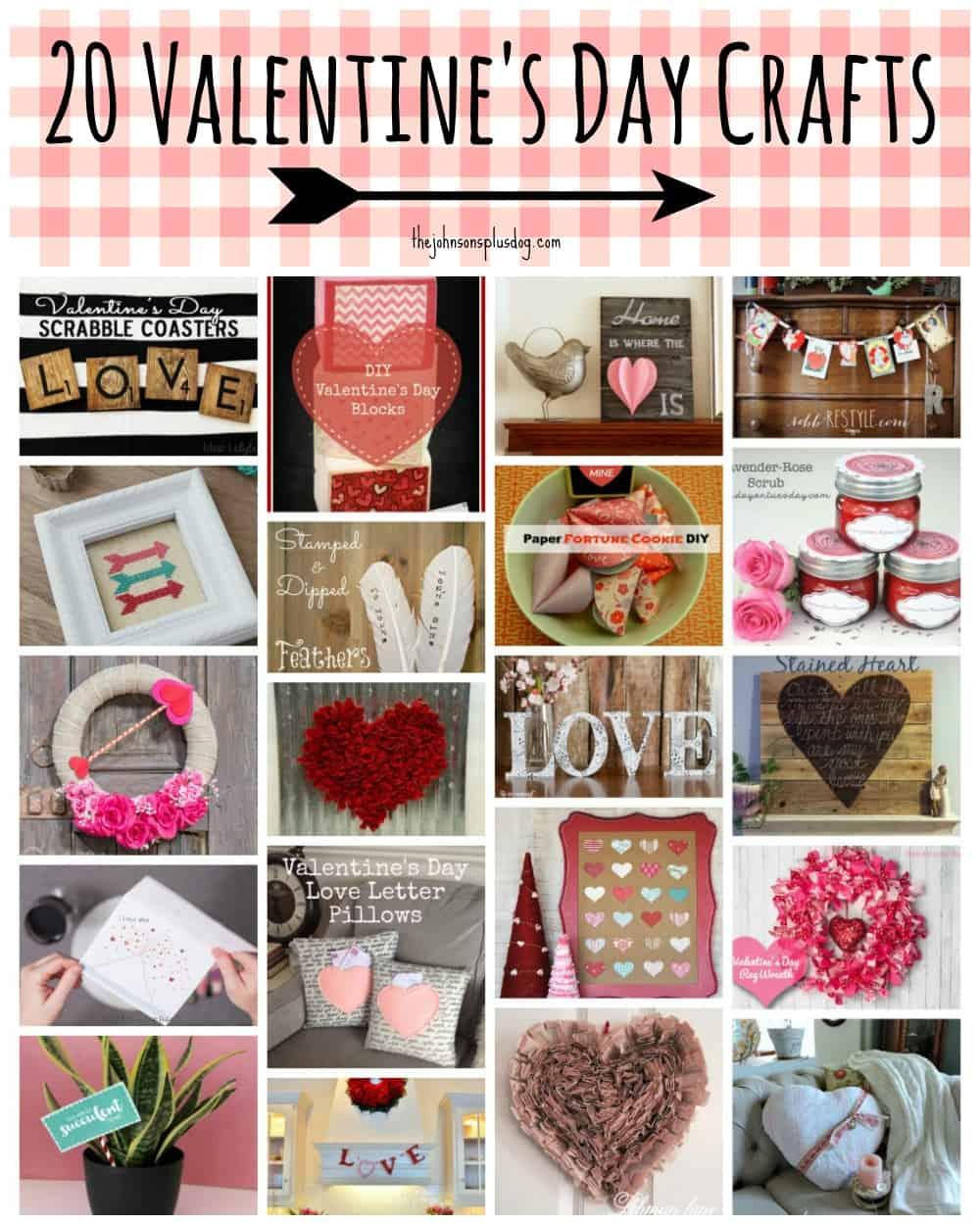 20 Valentine's Day Crafts