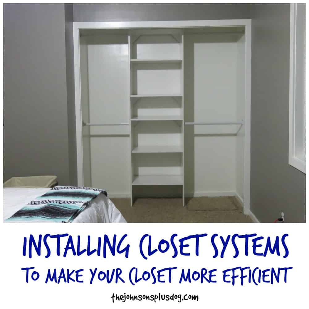 Installing Closet Systems To Make Your Closet More Efficient