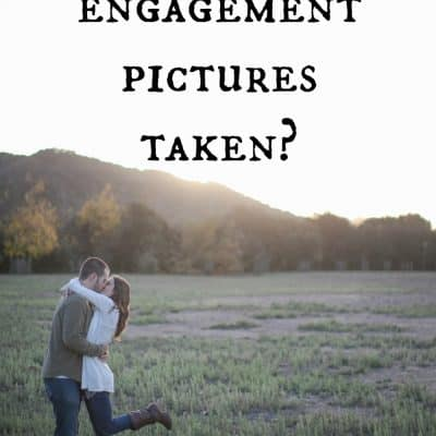 Should we get engagement pictures taken?