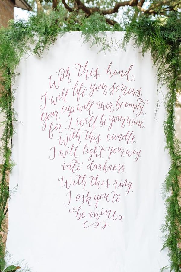 Creative wedding ceremony decor ideas making manzanita