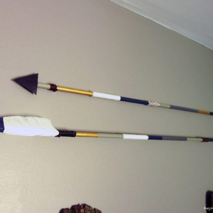 How To Make DIY Arrow Decor