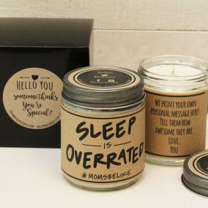 Sleep is Overrated Candle