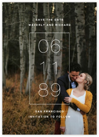 Creative Save The Date Ideas The Johnsons Plus Dog