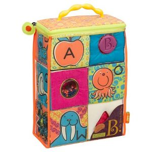 Soft and colorful ABC blocks