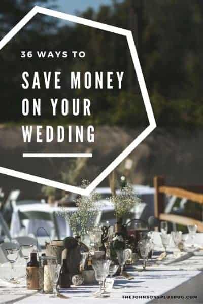 36 Genius Ways to Save Money on Your Wedding